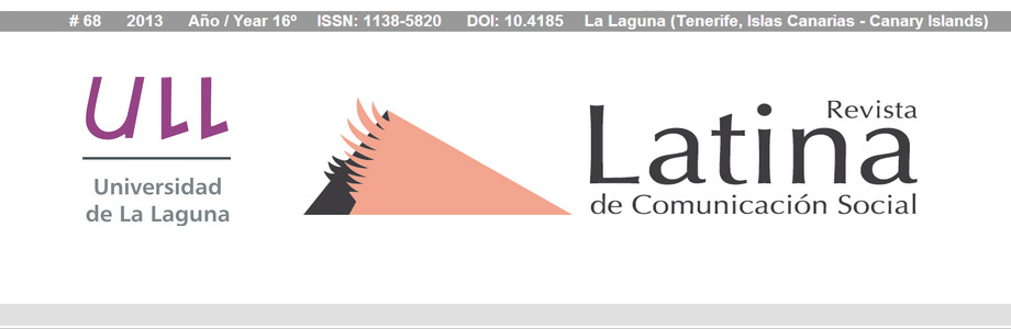 revista latina de comunicacion social - slider 2013