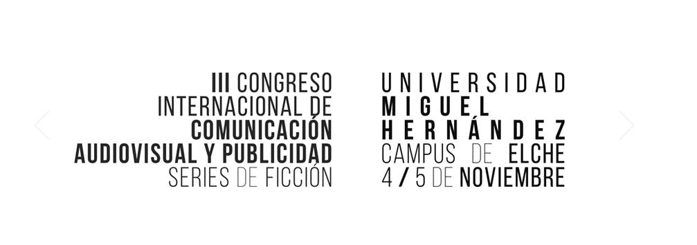 III congreso internacional de comunicación audiovisual y publicidad